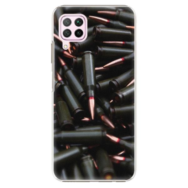 Plastové pouzdro iSaprio - Black Bullet - Huawei P40 Lite