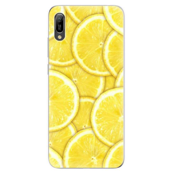 Odolné silikonové pouzdro iSaprio - Yellow - Huawei Y6 2019