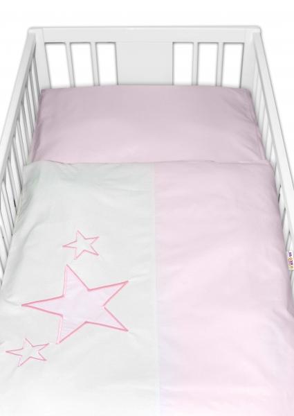 baby-nellys-povleceni-do-postylky-baby-stars-ruzove-vel-135x100-cm-135x100