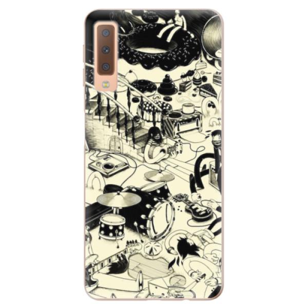 Odolné silikonové pouzdro iSaprio - Underground - Samsung Galaxy A7 (2018)