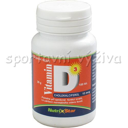 Vitamín D3 10mcg 100 tablet