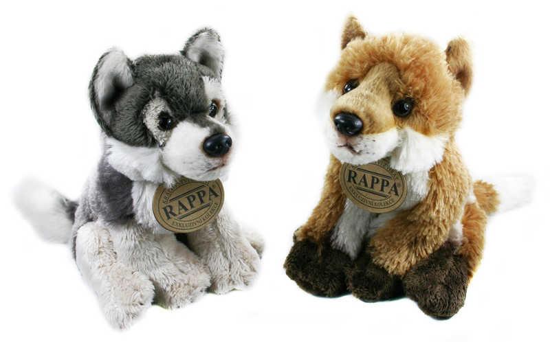 PLYŠ Vlk nebo liška 15 cm PLYŠOVÉ HRAČKY
