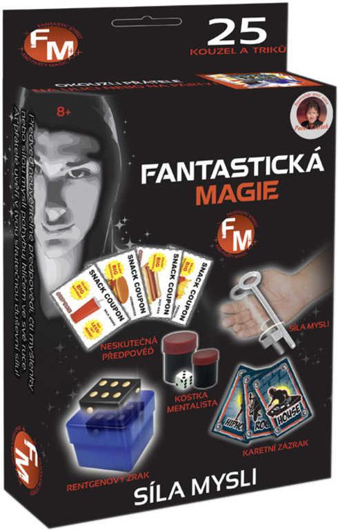 Fantastická magie: Síla mysli sada kouzel v krabici
