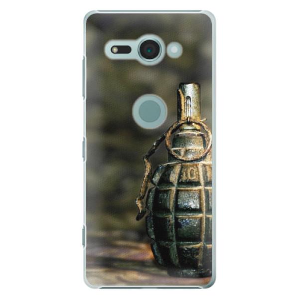 Plastové pouzdro iSaprio - Grenade - Sony Xperia XZ2 Compact
