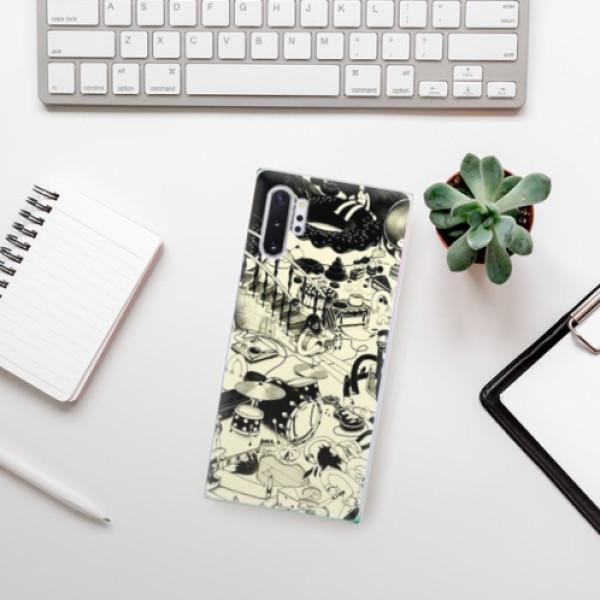 Odolné silikonové pouzdro iSaprio - Underground - Samsung Galaxy Note 10+