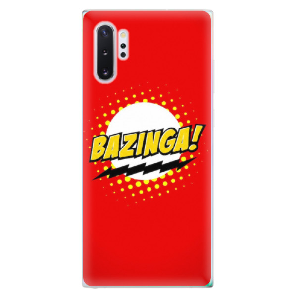 Odolné silikonové pouzdro iSaprio - Bazinga 01 - Samsung Galaxy Note 10+