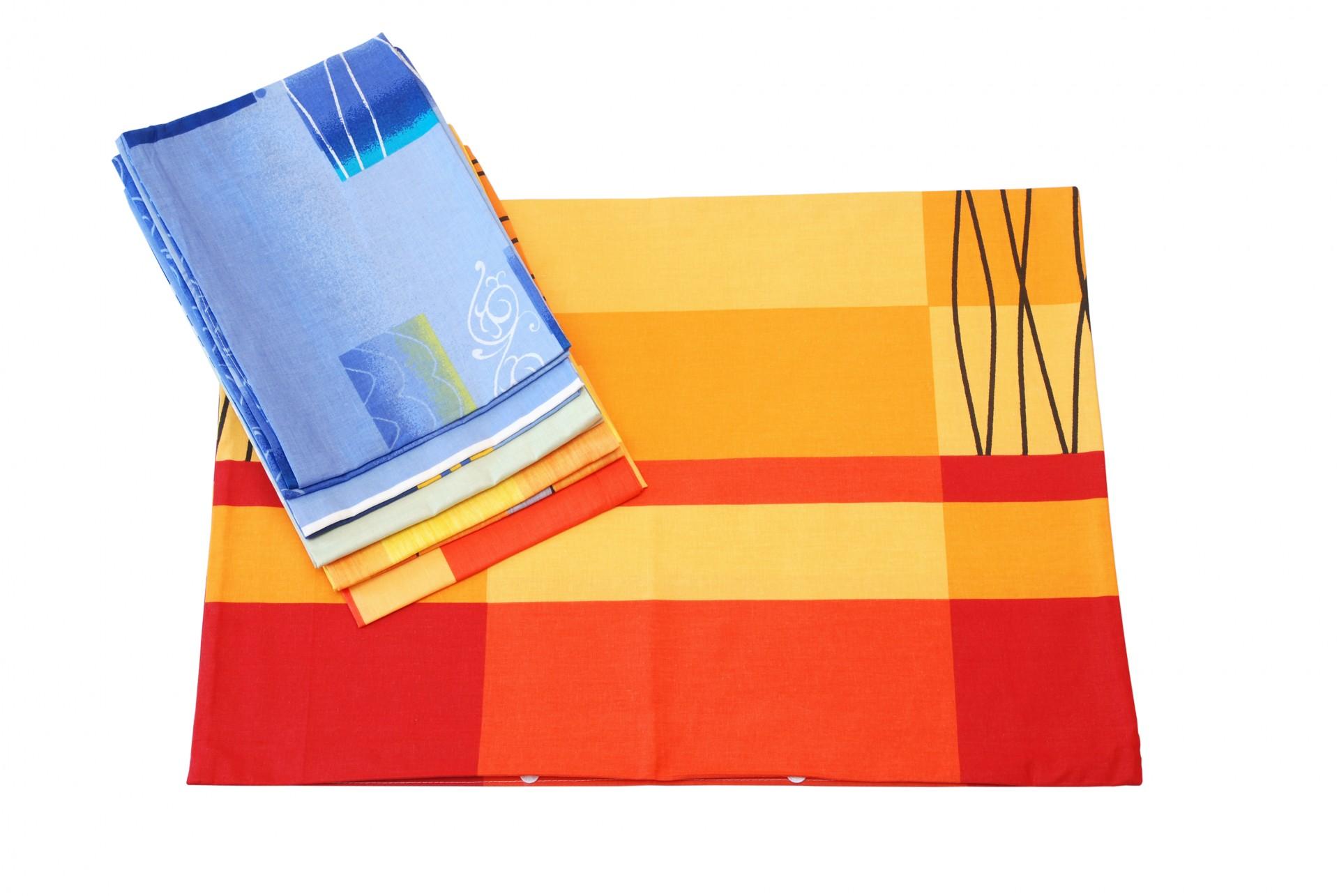 MIX povlaků bavlna 50x70cm balení 10ks