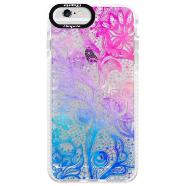 Silikonové pouzdro Bumper iSaprio - Color Lace - iPhone 6/6S