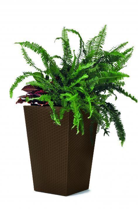Květináč Rattan planter, velikost S