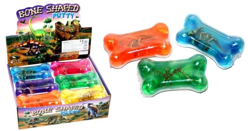 Dinosaurus v kosti - tvarovací hmota 6 barev