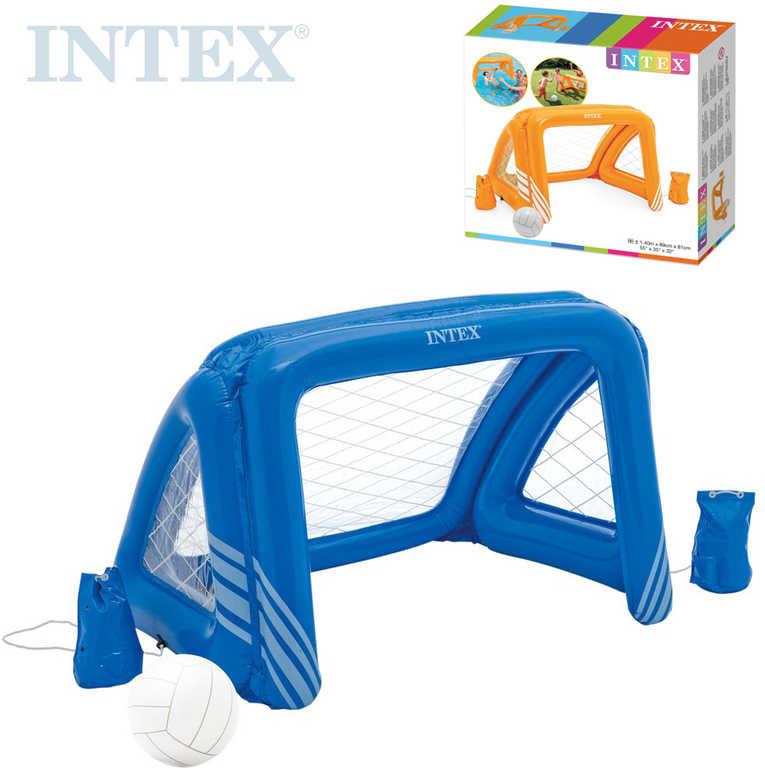 INTEX Branka nafukovací 140x89x81cm set s míčem do vody na vodní polo 58507