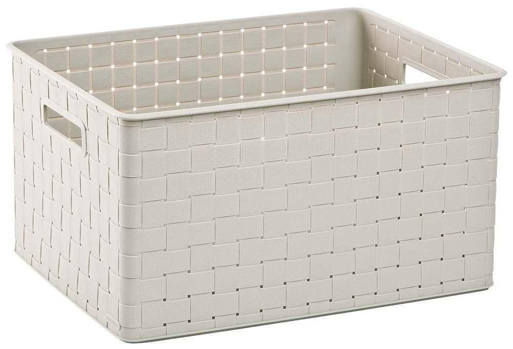 Úložný box NUANCE - 30 L, krémový