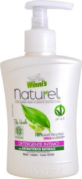 WINNIS Naturel intimní mýdlo se zeleným čajem 250 ml