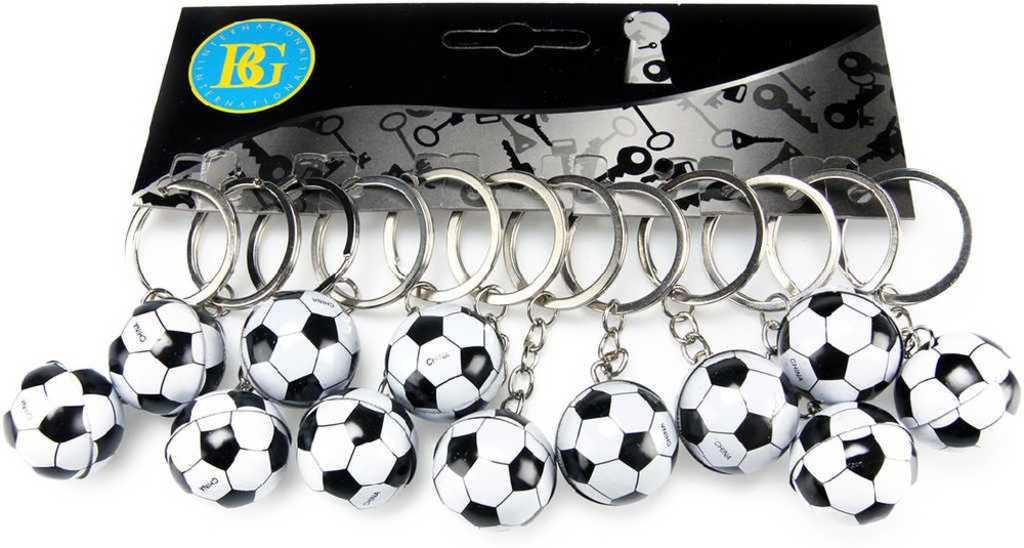 Přívěšek na klíče míček fotbalový balon