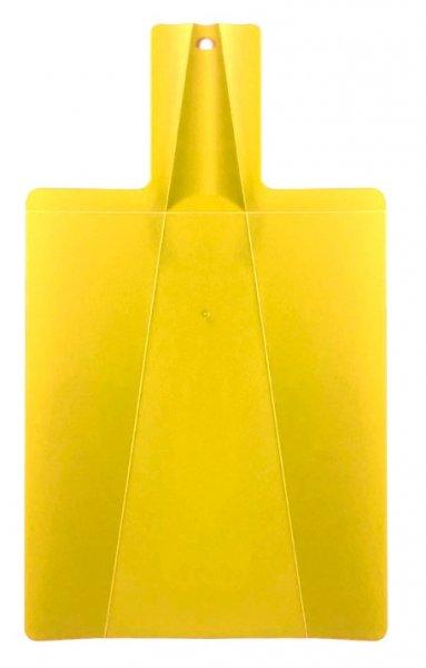 Prkénko s lopatkou 2v1 - Žlutá