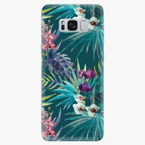 Plastový kryt iSaprio - Tropical Blue 01 - Samsung Galaxy S8 Plus