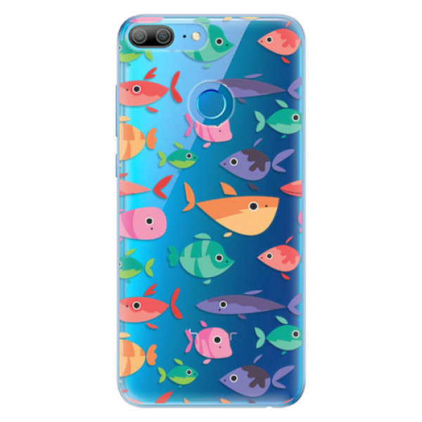 Odolné silikonové pouzdro iSaprio - Fish pattern 01 - Huawei Honor 9 Lite