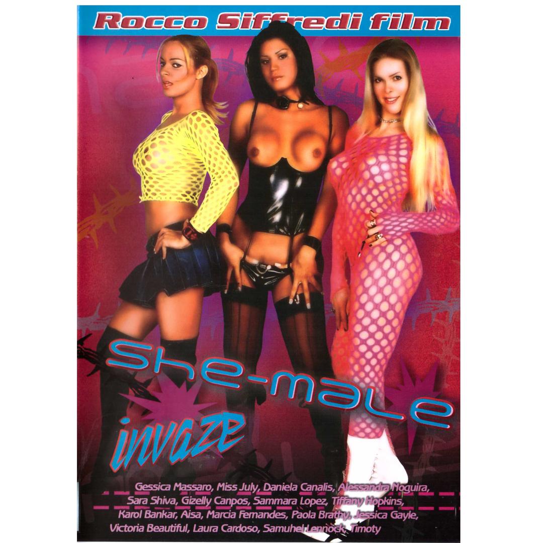 DVD- She-male Invaze (150 minut)
