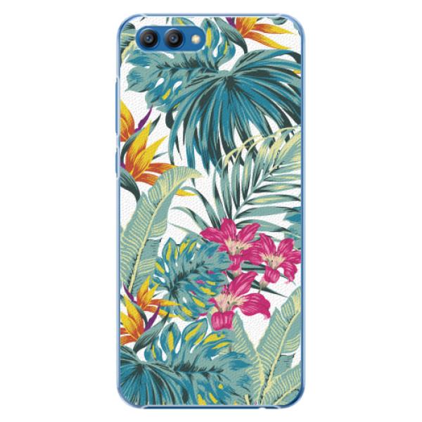 Plastové pouzdro iSaprio - Tropical White 03 - Huawei Honor View 10