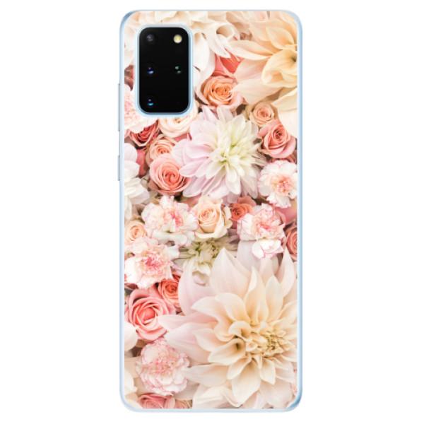 Odolné silikonové pouzdro iSaprio - Flower Pattern 06 - Samsung Galaxy S20+