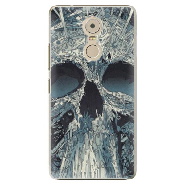 Plastové pouzdro iSaprio - Abstract Skull - Lenovo K6 Note