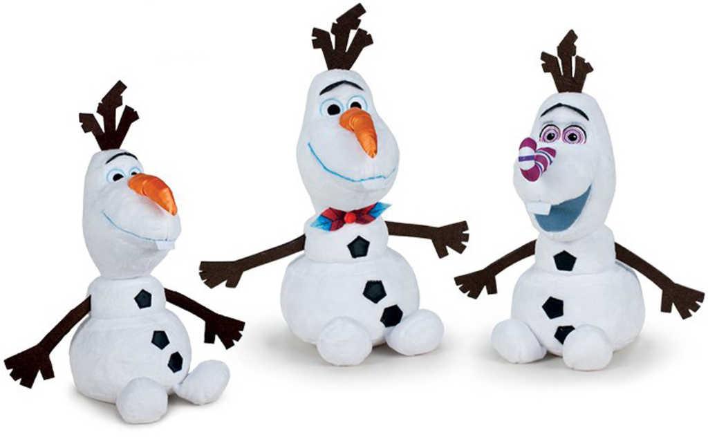 PLYŠ Sněhulák Olaf 30cm Frozen (Ledové Království) 3 druhy *PLYŠOVÉ HRAČKY*