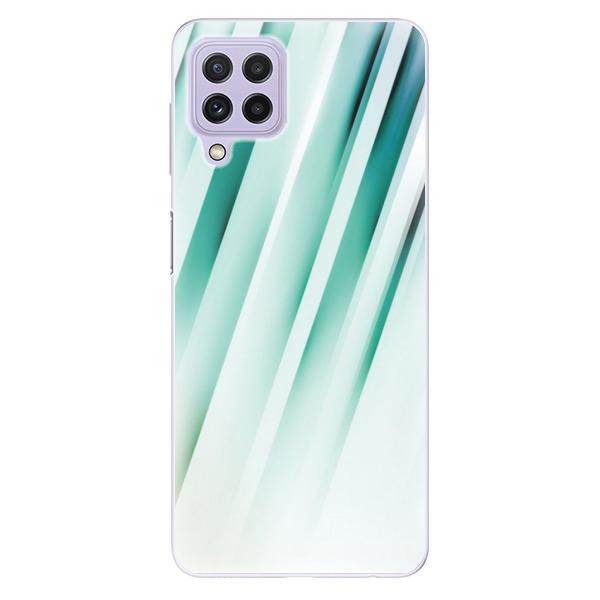 Odolné silikonové pouzdro iSaprio - Stripes of Glass - Samsung Galaxy A22