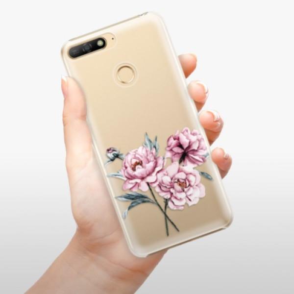 Plastové pouzdro iSaprio - Poeny - Huawei Y6 Prime 2018