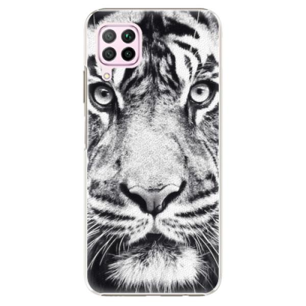 Plastové pouzdro iSaprio - Tiger Face - Huawei P40 Lite