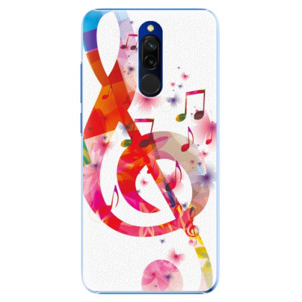 Plastové pouzdro iSaprio - Love Music - Xiaomi Redmi 8