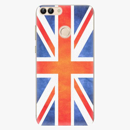 Silikonové pouzdro iSaprio - UK Flag - Huawei P Smart