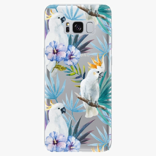 Plastový kryt iSaprio - Parrot Pattern 01 - Samsung Galaxy S8 Plus