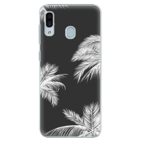 Plastové pouzdro iSaprio - White Palm - Samsung Galaxy A30
