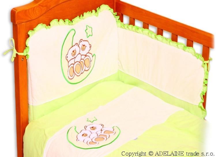 mantinel-s-povlecenim-terjan-medvidci-na-mesicku-jersey-zeleny-120x90