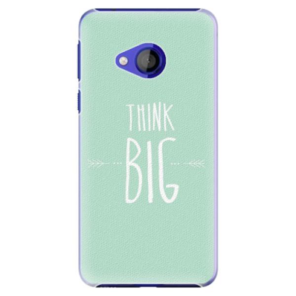Plastové pouzdro iSaprio - Think Big - HTC U Play