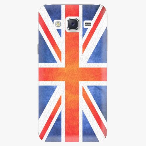 Plastový kryt iSaprio - UK Flag - Samsung Galaxy J5