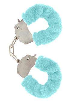Pouta Toy Joy modrá Furry Fun Cuffs Blue Plush
