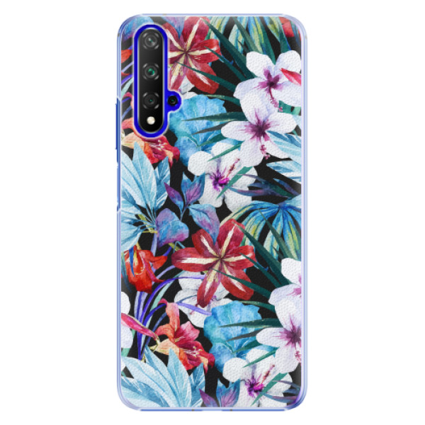 Plastové pouzdro iSaprio - Tropical Flowers 05 - Huawei Honor 20