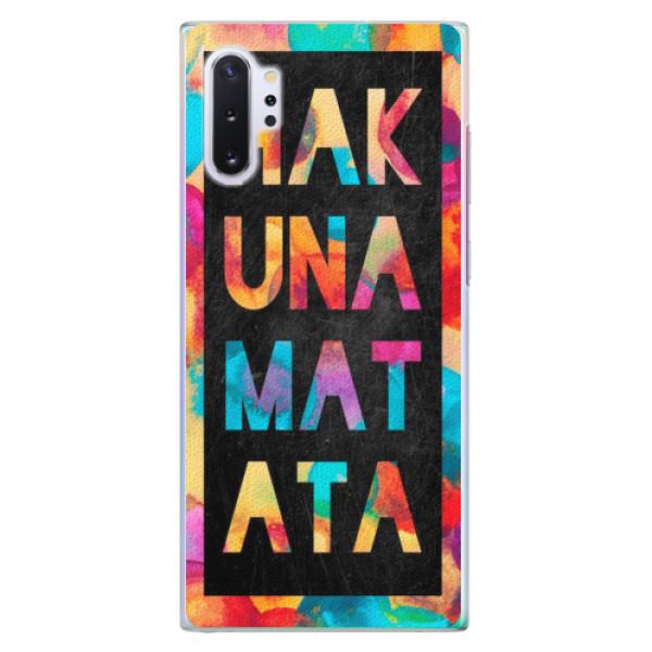Plastové pouzdro iSaprio - Hakuna Matata 01 - Samsung Galaxy Note 10+