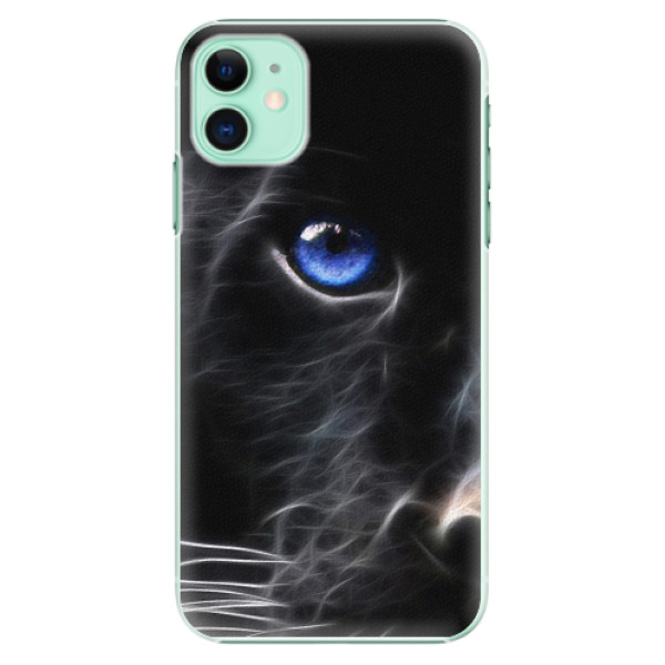 Plastové pouzdro iSaprio - Black Puma - iPhone 11
