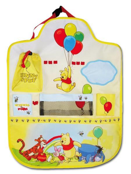 Kapsář do auta - Disney Winnie The Pooh - žlutá