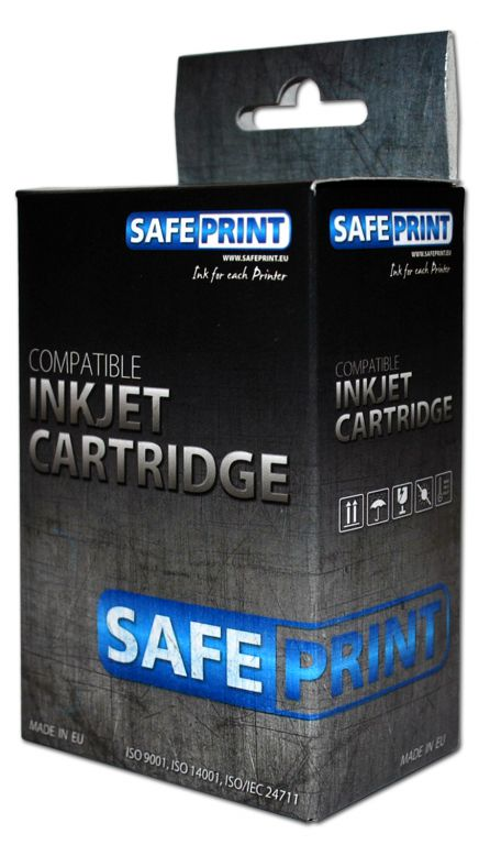 Inkoust Safeprint PGI-570PGBK XL kompatibilní pro Canon   Black   23ml