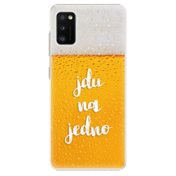 Plastové pouzdro iSaprio - Jdu na jedno - Samsung Galaxy A41
