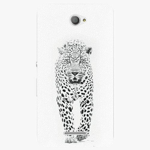Plastový kryt iSaprio - White Jaguar - Sony Xperia E4