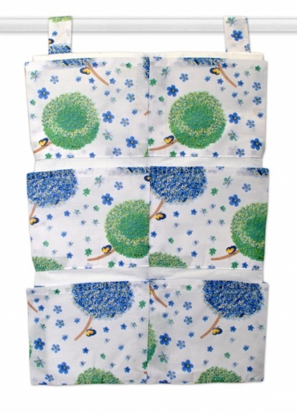 Kapsář 40 x 65 cm - Pampelišky modré