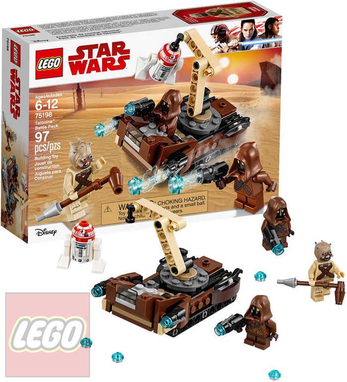 LEGO STAR WARS Bitevní balíček Tatooine STAVEBNICE 75198