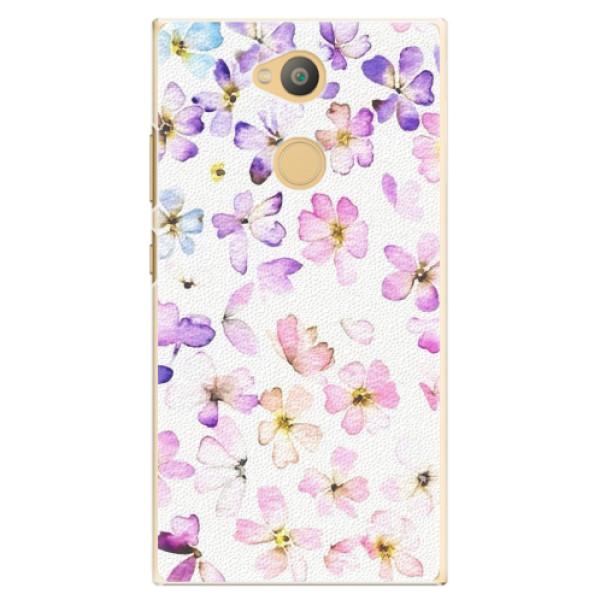 Plastové pouzdro iSaprio - Wildflowers - Sony Xperia L2