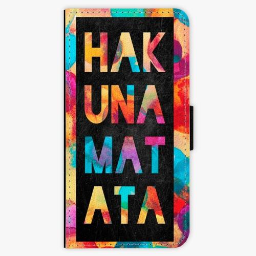 Flipové pouzdro iSaprio - Hakuna Matata 01 - Samsung Galaxy S9