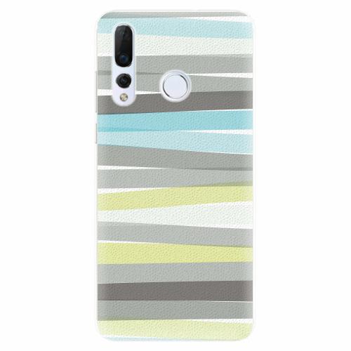 Silikonové pouzdro iSaprio - Stripes - Huawei Nova 4