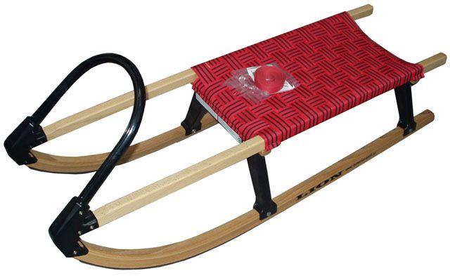 Dřevěné saně Rekord 110cm
